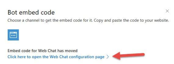 WebChatConfiguration