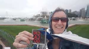 Chicago Marathon finisher medal