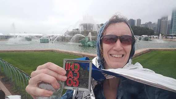 Chicago Marathon finisher medal