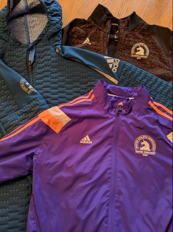 Boston marathon jackets